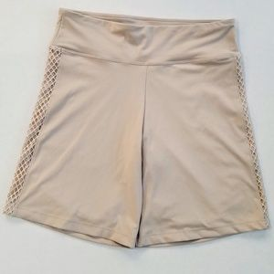 Victoria's Secret Shorts - VICTORIA SPORT Oyster Mesh-Detail Bike Short